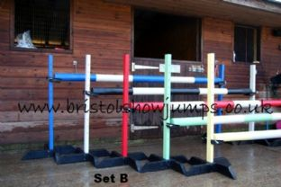 Set of 5 teeny tot  training stands choice of colours
